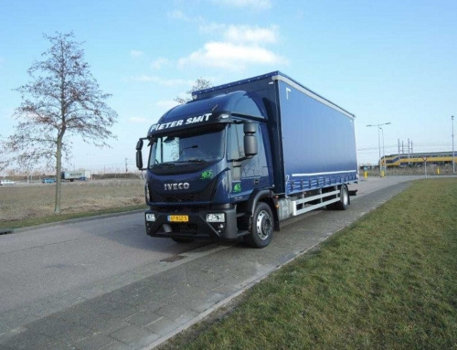 Iveco Eurocargo curtain 8M (18 tons)