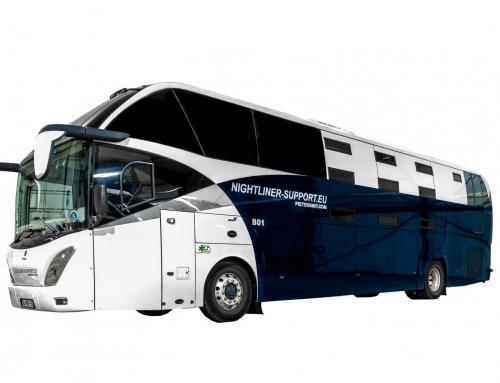 Nightliner 10-bunks Iveco Single Decker